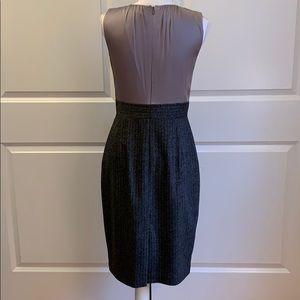Elie Tahari Dresses - Elite Tahari Dress— silk flower bodice/ wool skirt